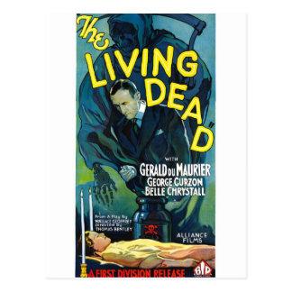 La vie morte carte postale