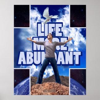 La vie plus abondante - 20 x 16 posters