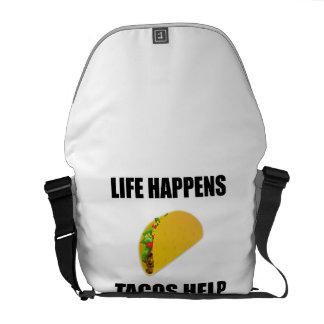 La vie se produit aide de tacos sacoche