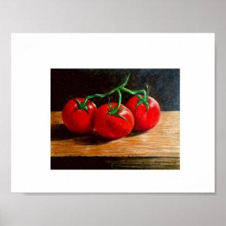 La vie toujours - 3 tomates poster