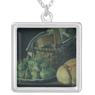 La vie toujours avec des figues, 1746 pendentif carré
