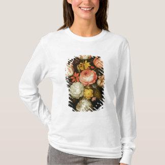 La vie toujours avec des fleurs t-shirt