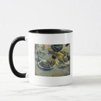 La vie toujours avec le fruit, 1888 mugs
