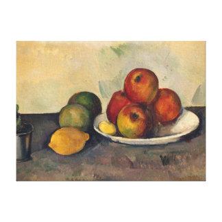 La vie toujours avec les pommes, c.1890 toiles
