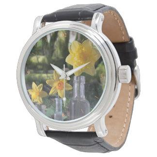La vie toujours dans les bois montres bracelet