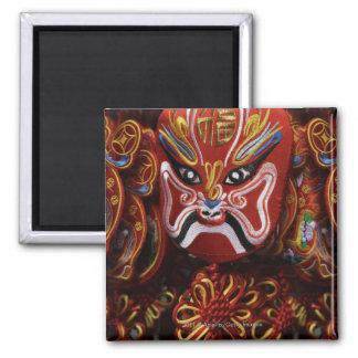 La vie toujours de la décoration chinoise de magnet carré