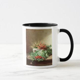 La vie toujours des fraises, des carottes et du mug