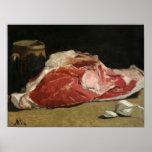 La vie toujours, le joint de la viande, 1864 posters