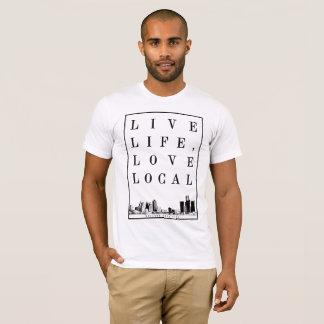 La vie vivante, aiment le T-shirt local