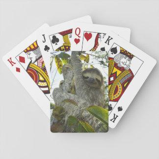 La vie vivante aiment une paresse cartes à jouer