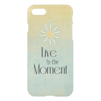La vie vivante inspirée dans la citation de moment coque iPhone 7