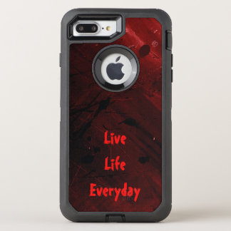 La vie vivante quotidienne coque OtterBox defender iPhone 8 plus/7 plus
