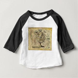 La vieille Amérique britannique explorent la carte T-shirt Pour Bébé