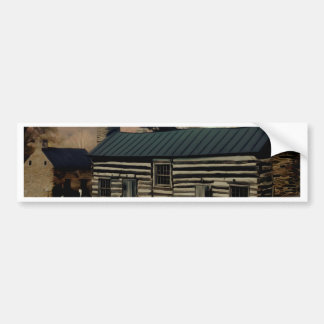La vieille Chambre de ferme Adhésifs Pour Voiture