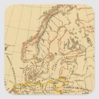 La vieille Europe Sticker Carré