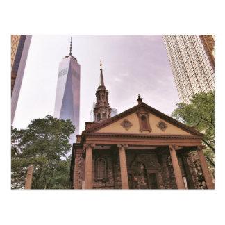 La vieille garde. La chapelle de St Paul Carte Postale