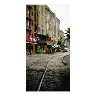 La vieille savane, rue de rivière, la savane, la modèle pour photocarte