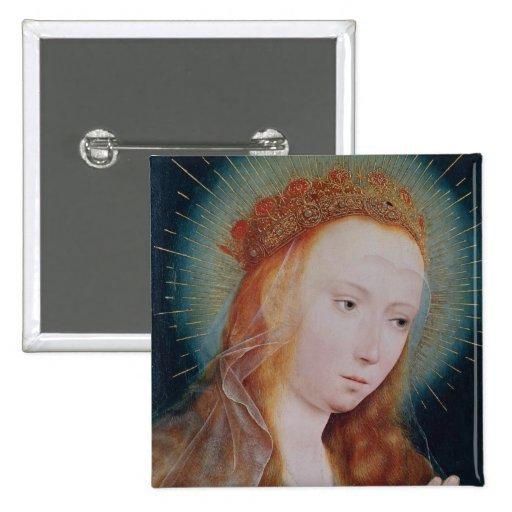 La Vierge à la prière Pin's