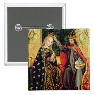 La Vierge couronnée, de l'autel de dôme, 1499 Badge