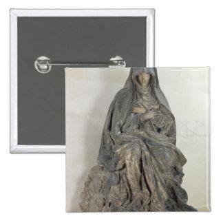La Vierge de la peine Badge Carré 5 Cm