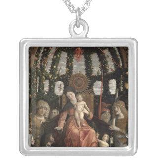 La Vierge de la victoire ou Madonna et l'enfant Pendentif Carré
