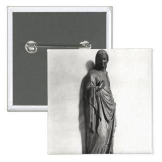 La Vierge de l'annonce Badge Carré 5 Cm