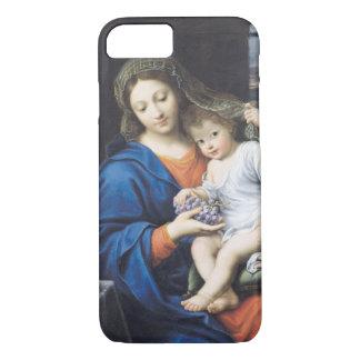 La Vierge des raisins, 1640-50 Coque iPhone 7