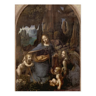 La Vierge des roches, c.1508 Carte Postale