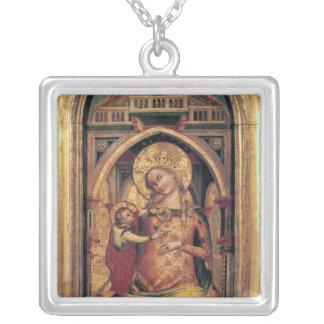 La Vierge et l'enfant, 1372 Pendentif Carré