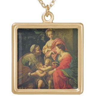 La Vierge et l'enfant avec St Elizabeth, l'Infan Pendentifs