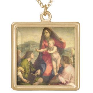 La Vierge et l'enfant avec un saint et un ange, C. Colliers Personnalisés