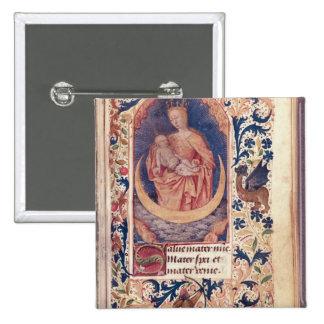 La Vierge et l'enfant Badge