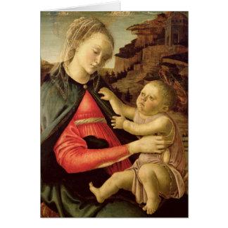 La Vierge et l'enfant c.1465-70 Cartes