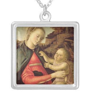 La Vierge et l'enfant c.1465-70 Pendentif Carré