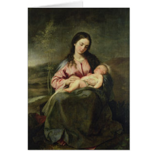 La Vierge et l'enfant Cartes