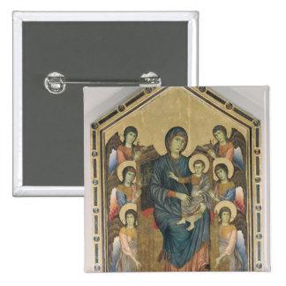 La Vierge et l'enfant dans la majesté Badge