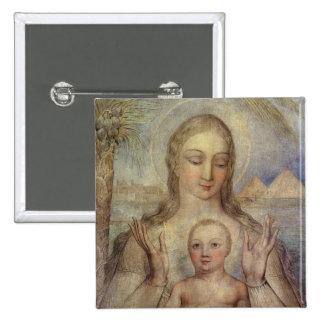 La Vierge et l'enfant en Egypte, 1810 Badge