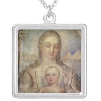 La Vierge et l'enfant en Egypte, 1810 Pendentif Personnalisé