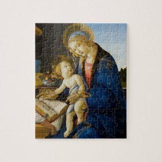 La Vierge et l'enfant par Sandro Botticelli Puzzle