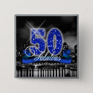 La ville allume cinquante ID191 fabuleux Badges