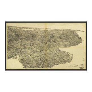 La ville de Brooklyn, New York (1897) Toiles