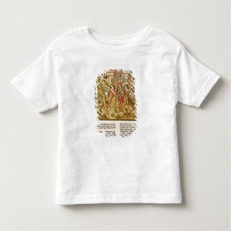 La ville de Dieu et la ville de ce siècle T-shirt Pour Les Tous Petits
