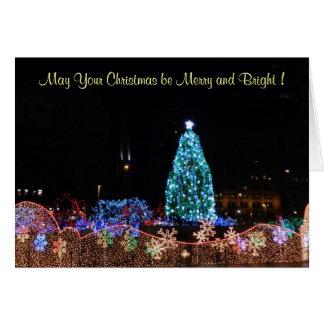 La ville de Noël allume la carte