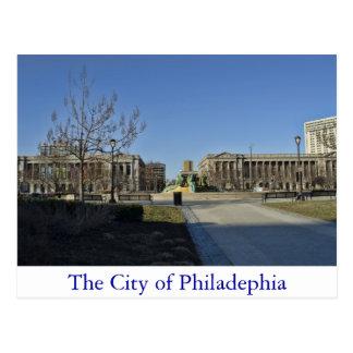 La ville de Philadelphie Carte Postale