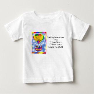 La ville de TI soutient le blanc 3 de T-shirt