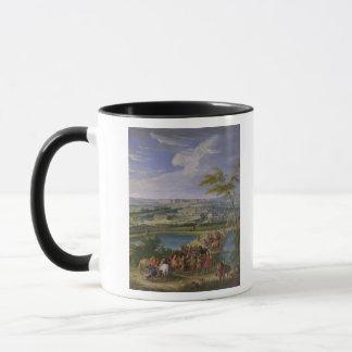 La ville et le château mug