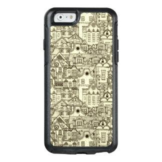 La ville étroite loge le motif peu précis coque OtterBox iPhone 6/6s