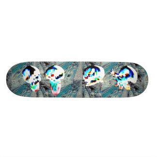La ville skateboards customisés