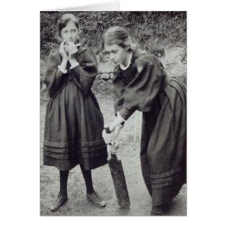 La Virginie et Vanessa Stephen, à St Ives, 1894 Cartes