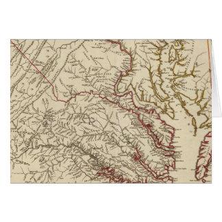 La Virginie, le Maryland Carte De Vœux